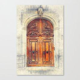 Trapani art 23 Sicily Canvas Print