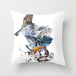 BQ-45 Spacecraft Throw Pillow