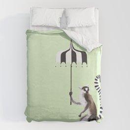 Ring Tailed Lemur Duvet Cover