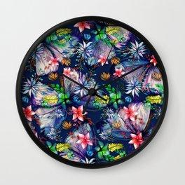 My Tropical Garden 11 Wall Clock