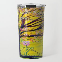 A Tree Planted by the Water Travel Mug