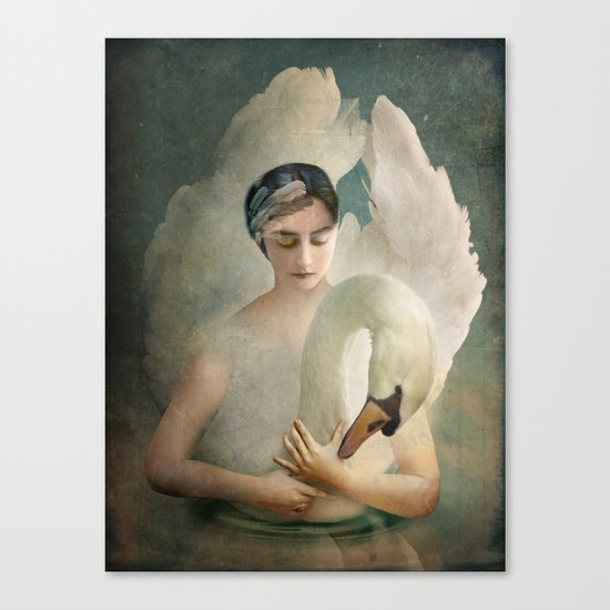 Odette (Swan Lake) Canvas Print