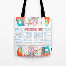 Beat the Heat Tote Bag
