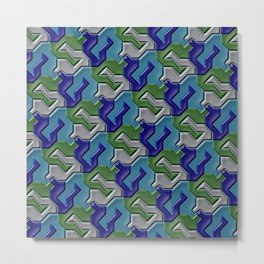 Geometrix 103 Metal Print