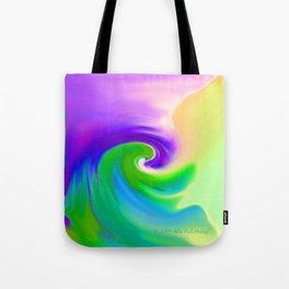 """""""Summer Garden #14"""" Print Tote Bag"""