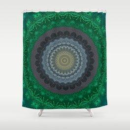 FineLine Mandala 14 Shower Curtain