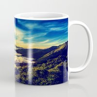 mountains Mugs featuring Mountains. by 2sweet4words Designs