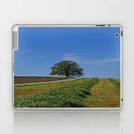 Relaxing in a field Laptop & iPad Skin