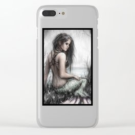 Mermaid's Rest Clear iPhone Case