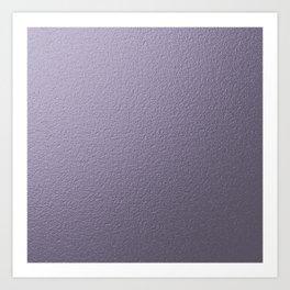 Lavender,painted wall, metallic,shine Art Print