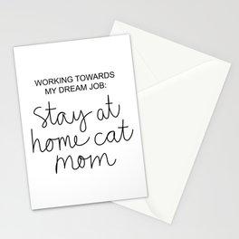 Cat Mom Stationery Cards