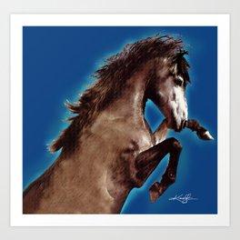 Prancing Horse by Kathy Morton Stanion Art Print