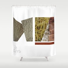 No Carbs and Cholestrols   Shower Curtain