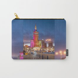 Rainbow colors at building Carry-All Pouch
