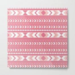 Summer Tribal Arrow Boho Pattern #2 #aztec #decor #art #society6 Metal Print