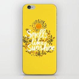 Smells Like Sunshine iPhone Skin