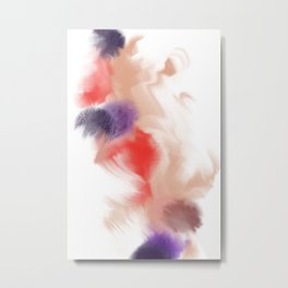 Blushing Bloop Metal Print