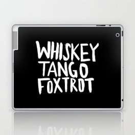 Whiskey Tango Foxtrot x WTF Laptop & iPad Skin