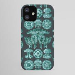 Ernst Haeckel - Scientific Illustration - Discomedusae (Jellyfish) iPhone Case