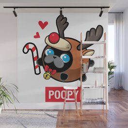 Poopy Wall Mural