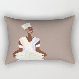 ORIXAS_ ifá Rectangular Pillow