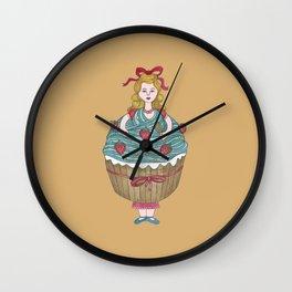 Amélie la Patissière Wall Clock