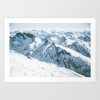 Aspiring range Art Print
