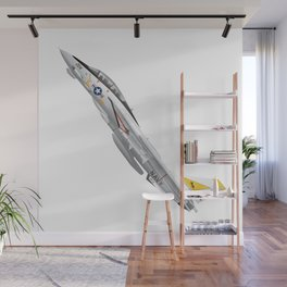 Fighter Squadron 21 (VF-21) Freelancers F-14 Tomcat Illustration Wall Mural