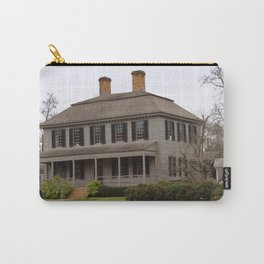 Grey Planks Carry-All Pouch