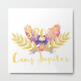 camp jupiter floral Metal Print