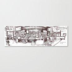 G St Wunderbar, Davis CA Canvas Print