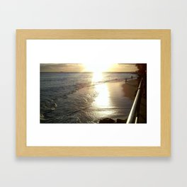 Ocean Beauty Framed Art Print