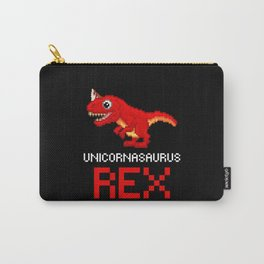 Unicornasaurus Pixel-Look Carry-All Pouch
