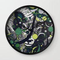 ram Wall Clocks featuring Ram by Aimee Alexander