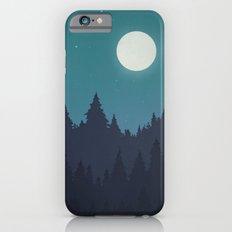 Tree Line - Turquoise Slim Case iPhone 6s