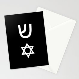 design from a mezuzah 1 Stationery Cards