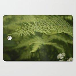 Jane's Garden - Fern Fronds Cutting Board