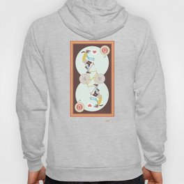 She's the queen of hearts Hoody