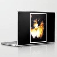 shadow Laptop & iPad Skins featuring Shadow by DTice