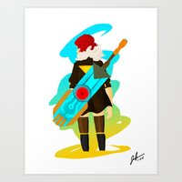 transistor Art Prints featuring Transistor by Jamerson