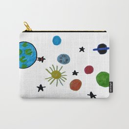 Space Patric Carry-All Pouch