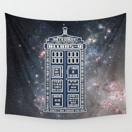 Doctor Who - Tardis Typography Wall Tapestry