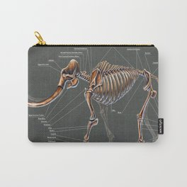 Mammuthus Primigenius Skeletal Study Carry-All Pouch