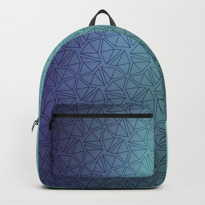 Gradient Web Backpack