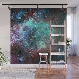 Star field in space Wall Mural