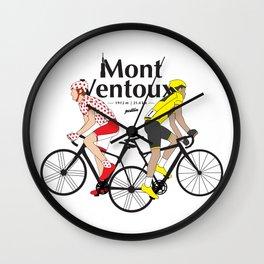Mont Ventoux Wall Clock