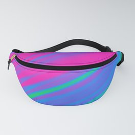 Polysexual Pride Rippling Satin Texture Fanny Pack