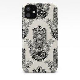 Hamsa Hand Otter iPhone Case