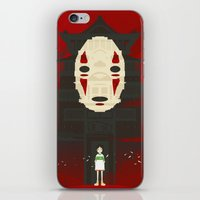 spirited away iPhone & iPod Skins featuring Spirited by Danny Haas
