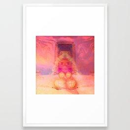 Anubis Gateway Framed Art Print